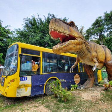 台湾版ジュラシックパーク《百果山探索樂園》で恐竜と戯れる