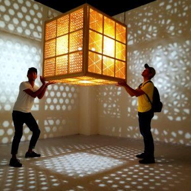 《臺中市纖維工藝博物館》職人の技が織り成す工芸品の数々