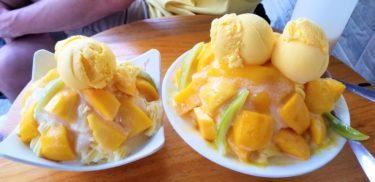 台南マンゴーは世界一!《玉井芒果冰 有間冰舖》でマンゴーかき氷を食べたよ