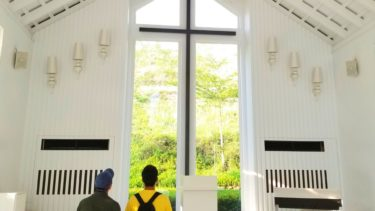 《玉井白色教堂》で写真撮りまくり