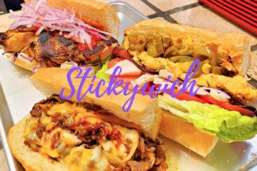 《Stickywich》見た目も味もインパクト大!自家製パンの映えサンドイッチ